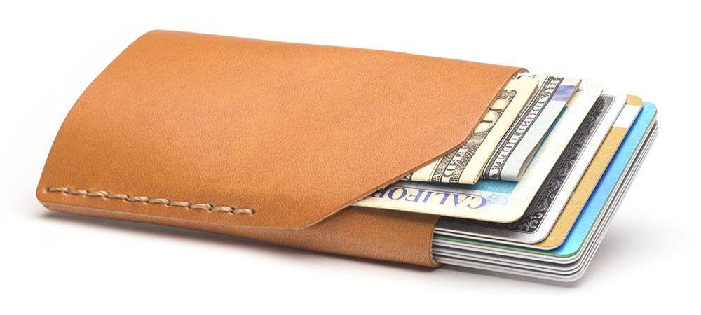 No. 2 Wallet in Golden Tan